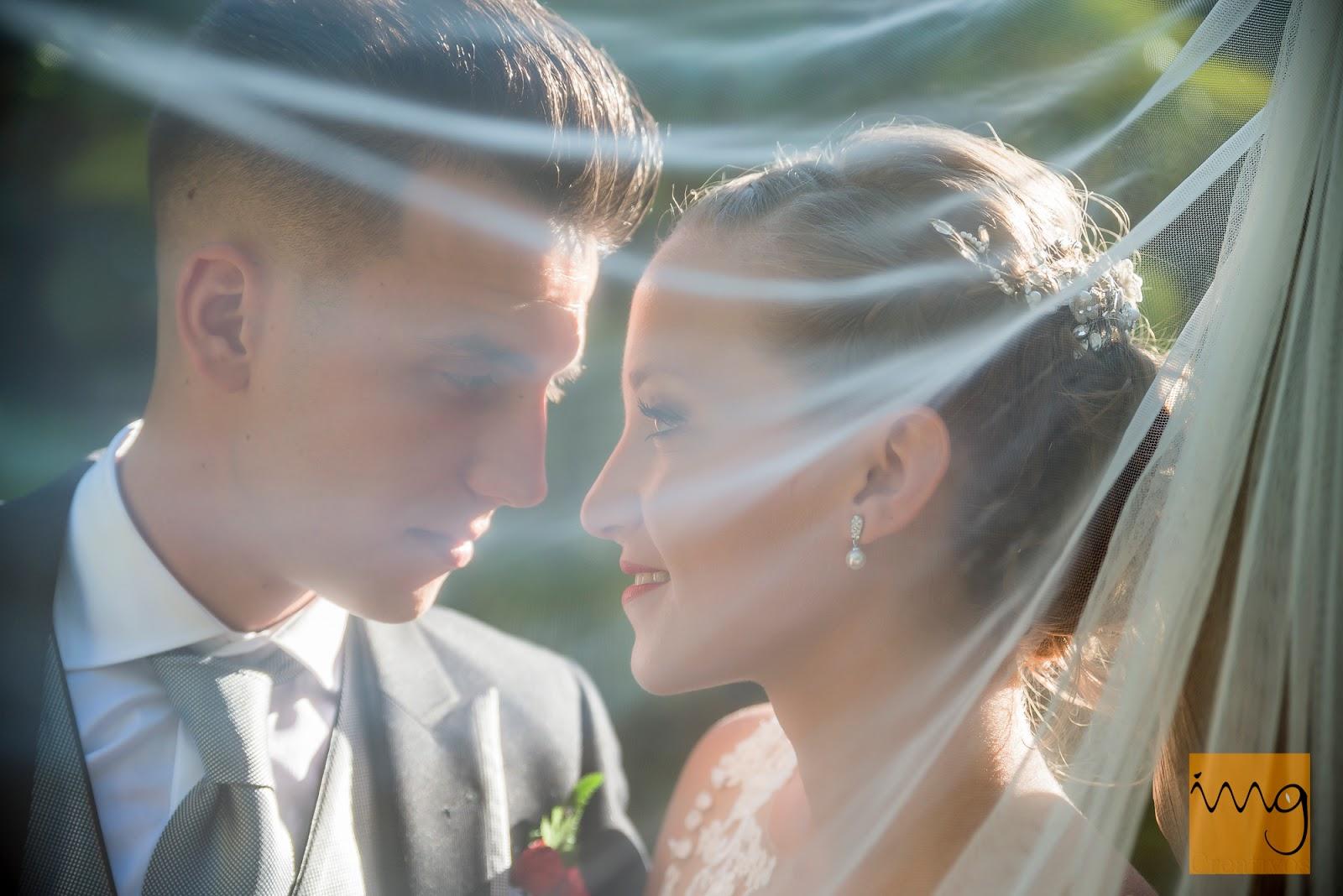 Fotografía de retrato de boda en Granada