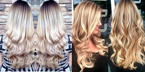 ombre hair - color melt ideas