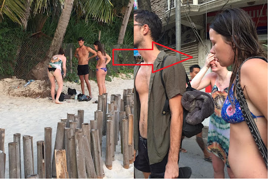 This Group of Foreign Tourists Loss All of their Valuables in Boracay and End up Crying