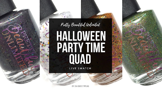 Pretty Beautiful Unlimited Halloween Party Time Quad