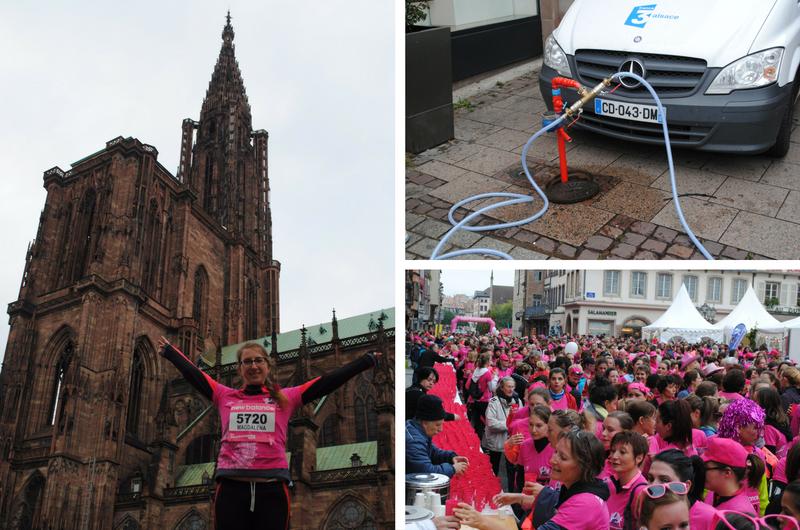 bieg kobiet w Strasburgu