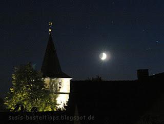 Kirche im Mondschein Foto von Stampin' Up! Demonstratorin in Coburg