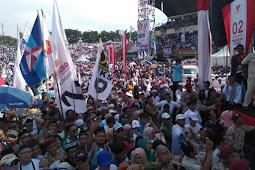 Rhoma Irama Dan Nissa Sabyan Menghibur Massa Kampanye Prabowo - Sandi Di Sidoarjo