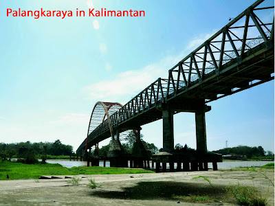 Attractive spot in Kalimantan