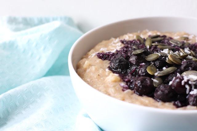 Creamy vegan coconut and vanilla rice pudding recipe