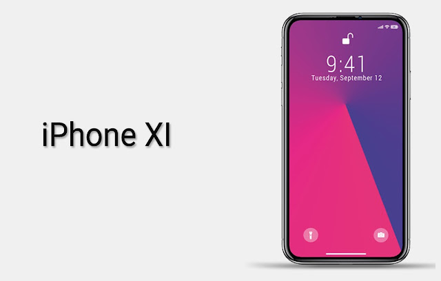iPhone XI || 5.8 Inch All Screen | Concept