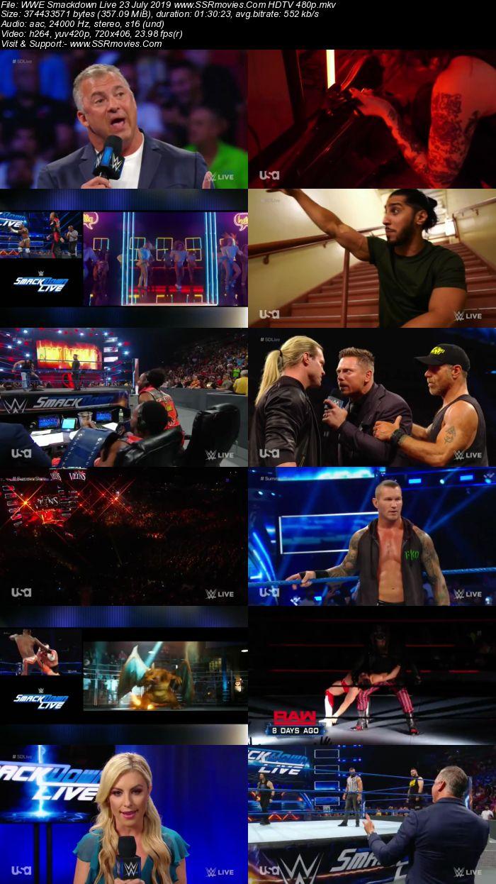 WWE Smackdown Live 23 July 2019 Full Show Download 480p 720p HDTV WEBRip