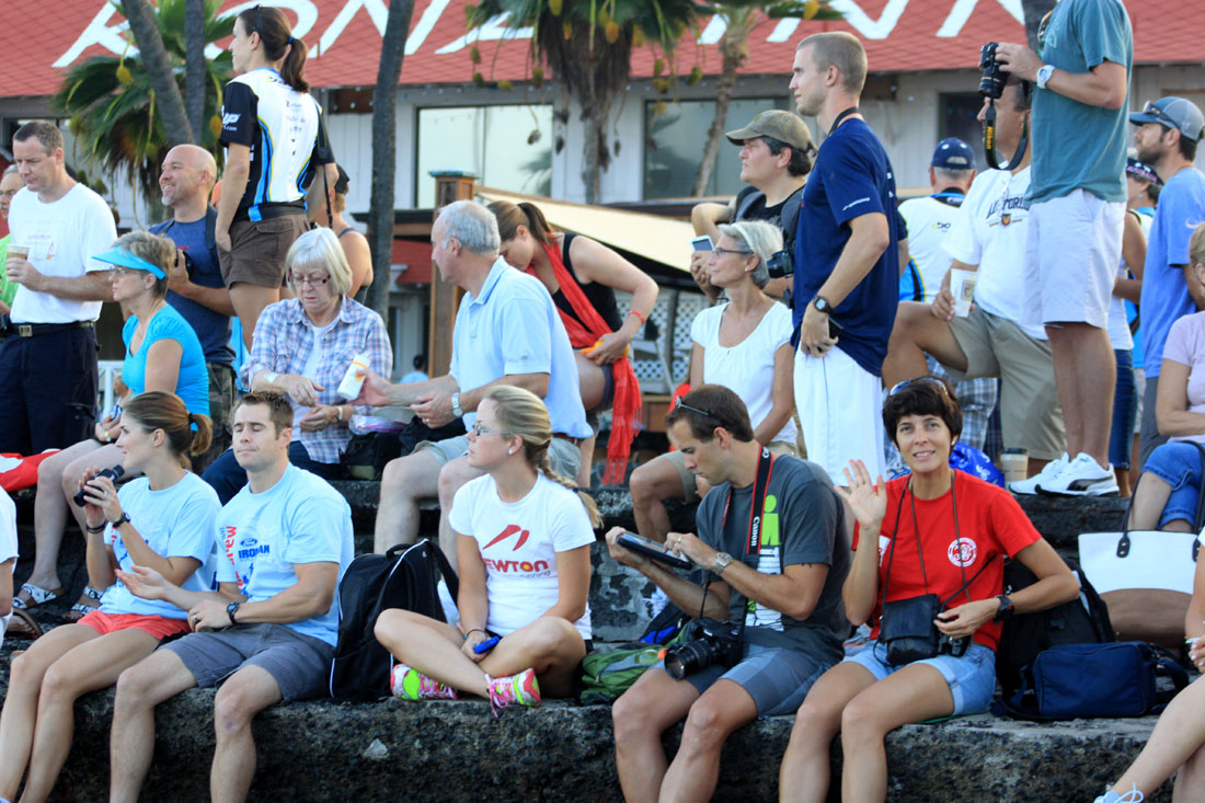Partenza Ironman Hawaii 2011