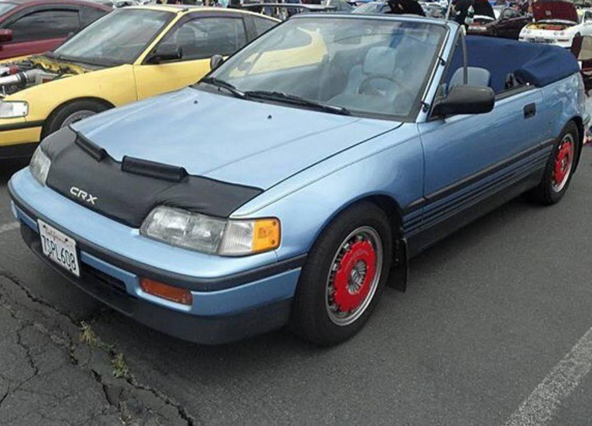 1989 Honda CRX Convertible