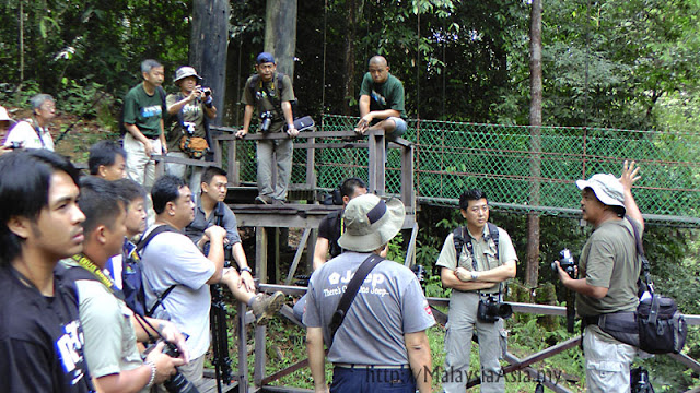 Group of Photographers at Imbak Canyon