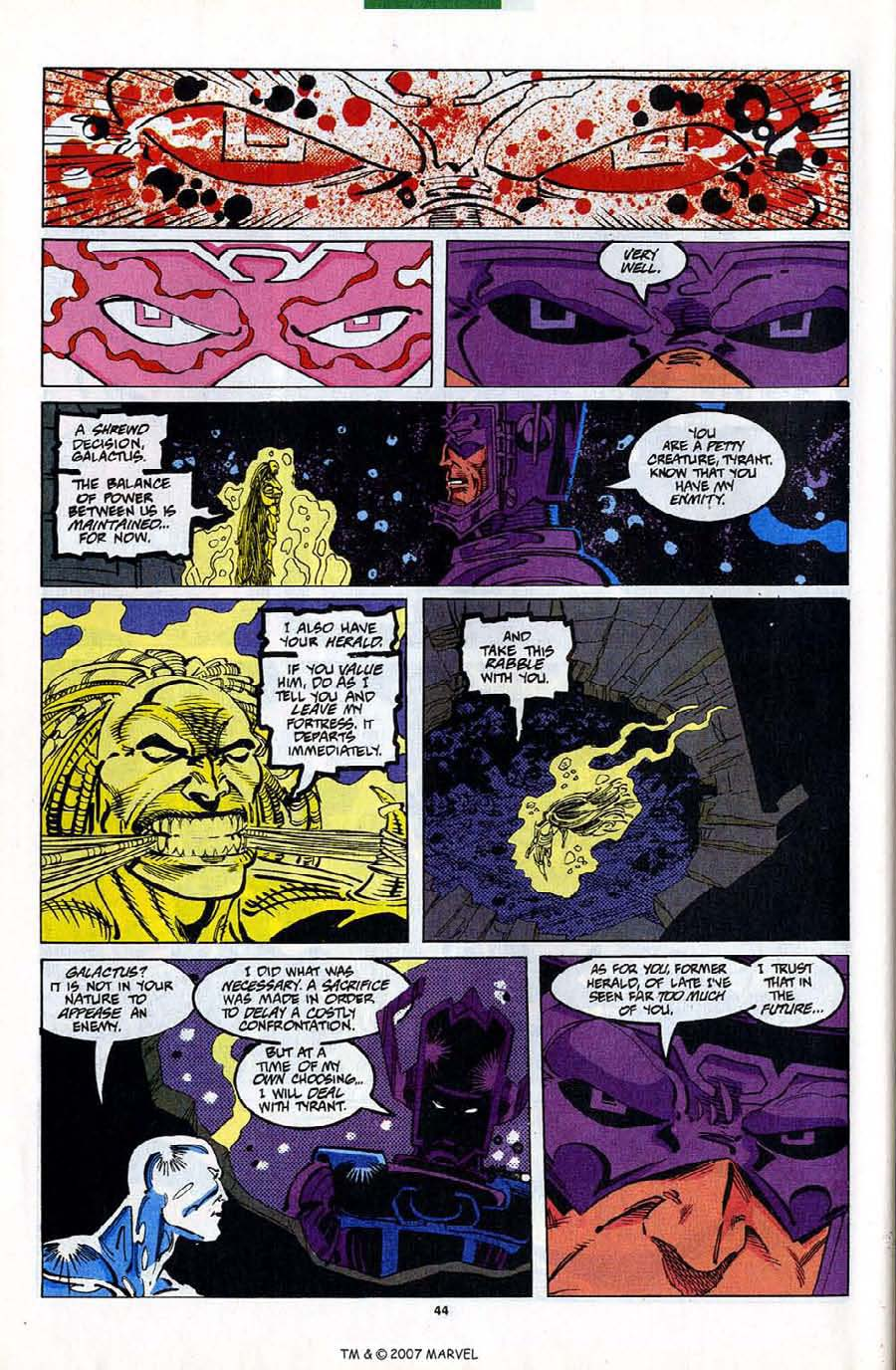 Read online Silver Surfer (1987) comic -  Issue #82 - 46