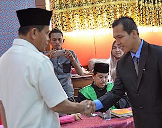 Mukhlis Lantik Kepala RSUD dr Sadikin Pariaman