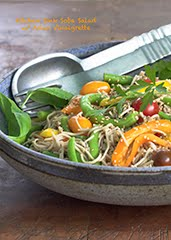 "Grab-and-Go Soba Noodle Salad w/ ""Berkeley Bowl Cookbook"" Asian Vinaigrette"