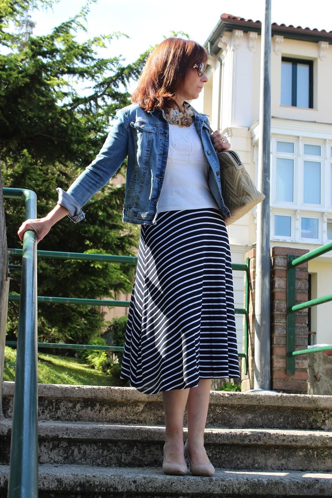 Br jula de estilo mis looks falda marinera - Brujula de estilo ...