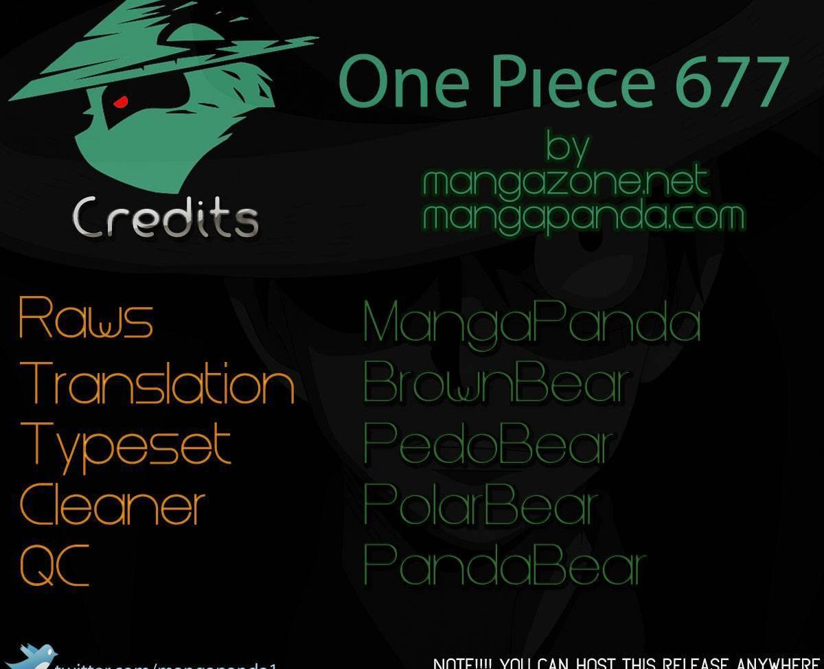 One Piece 677 Counter Hazard