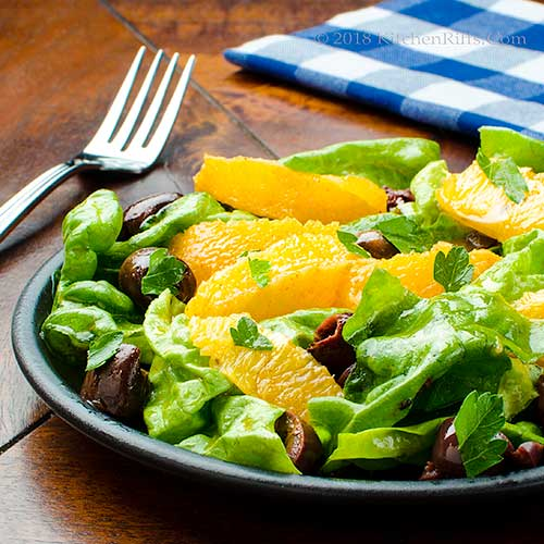 Moroccan-Spiced Orange and Olive Salad