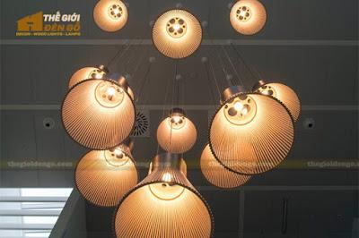 Thế Giới Đèn Gỗ - 8 mẫu đèn trang trí gỗ cho phòng ăn đẹp lung linh 25