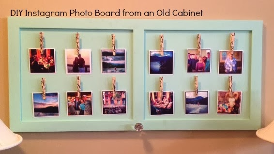 diy instagram photo display board