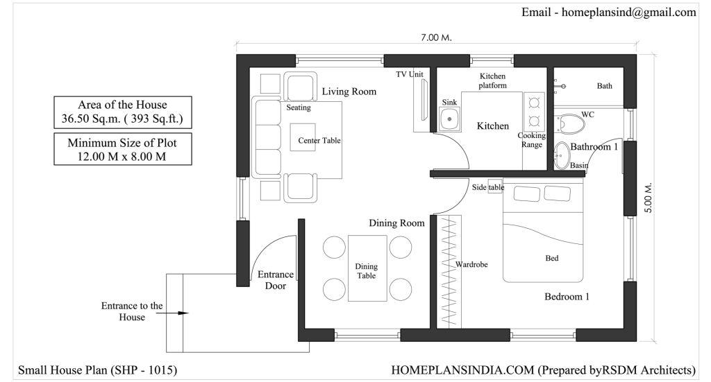 Home Plans in India: 4 Free House Floor Plans for Download ...