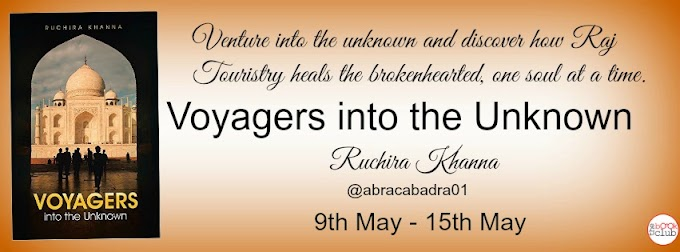 BLOG TOUR: VOYAGERS INTO THE UNKNOWN  BY  RUCHIRA KHANNA