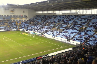 Ricoh Arena, Coventry City FC against Accrington Stanley