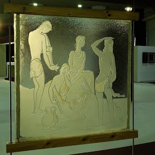 João Fahrion - Vitral (Exposição da Pinacoteca Barão do Santo Ângelo na Reitoria da UFRGS)