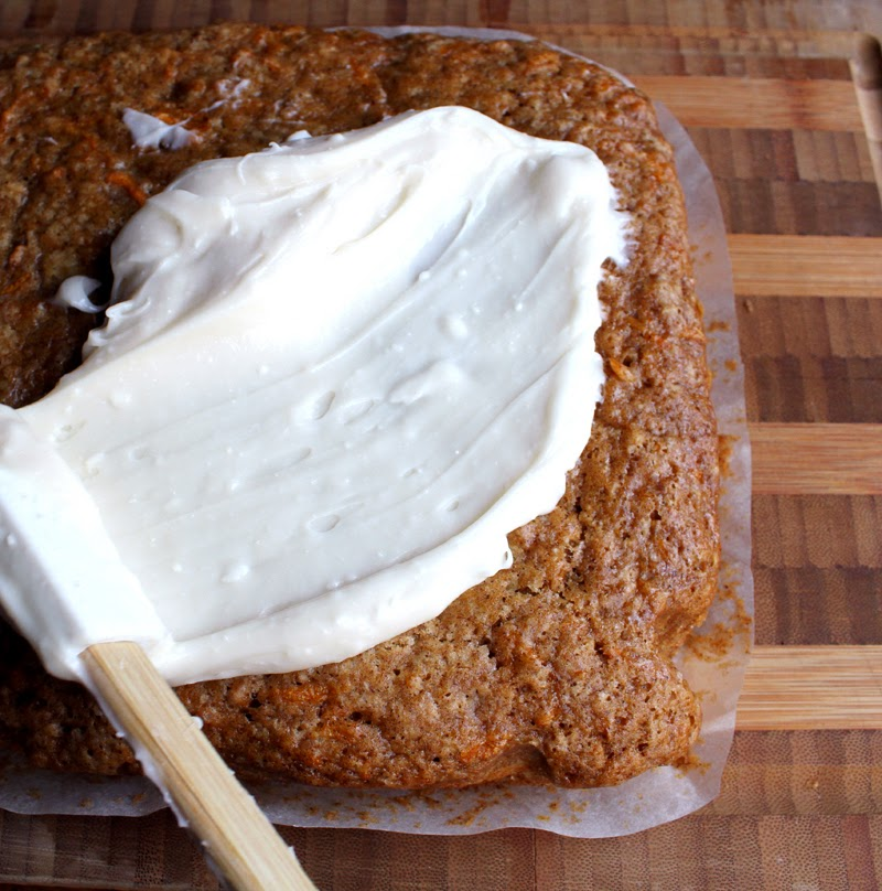 Oppskrift Trøstekake Gulrotkake Langpanne Uten Egg Melk Vegansk Kakeoppskrift