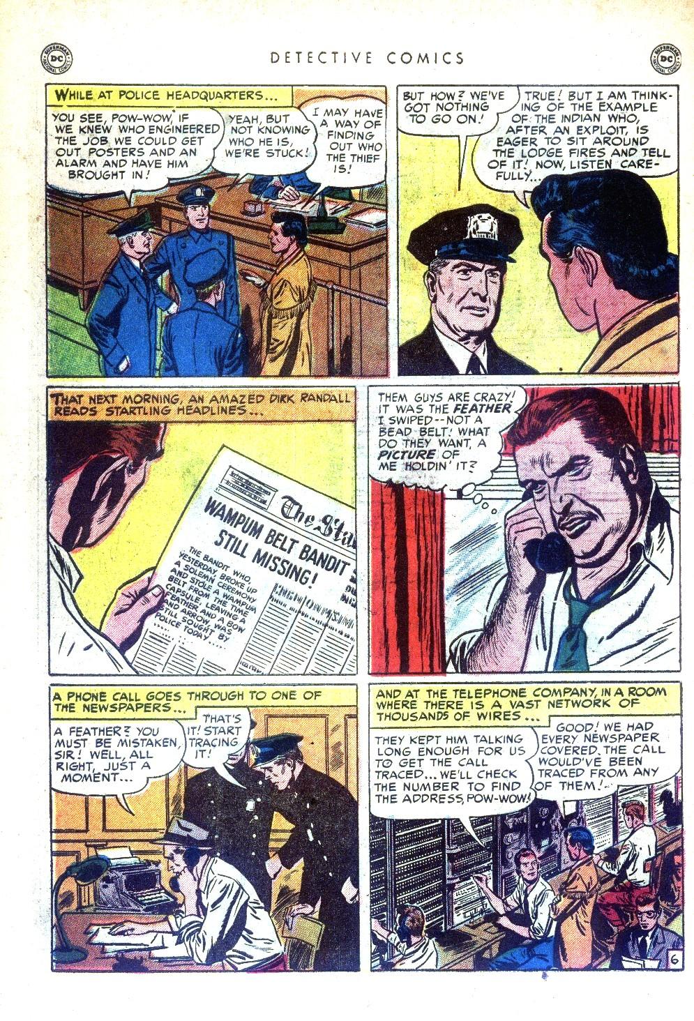 Read online Detective Comics (1937) comic -  Issue #169 - 44