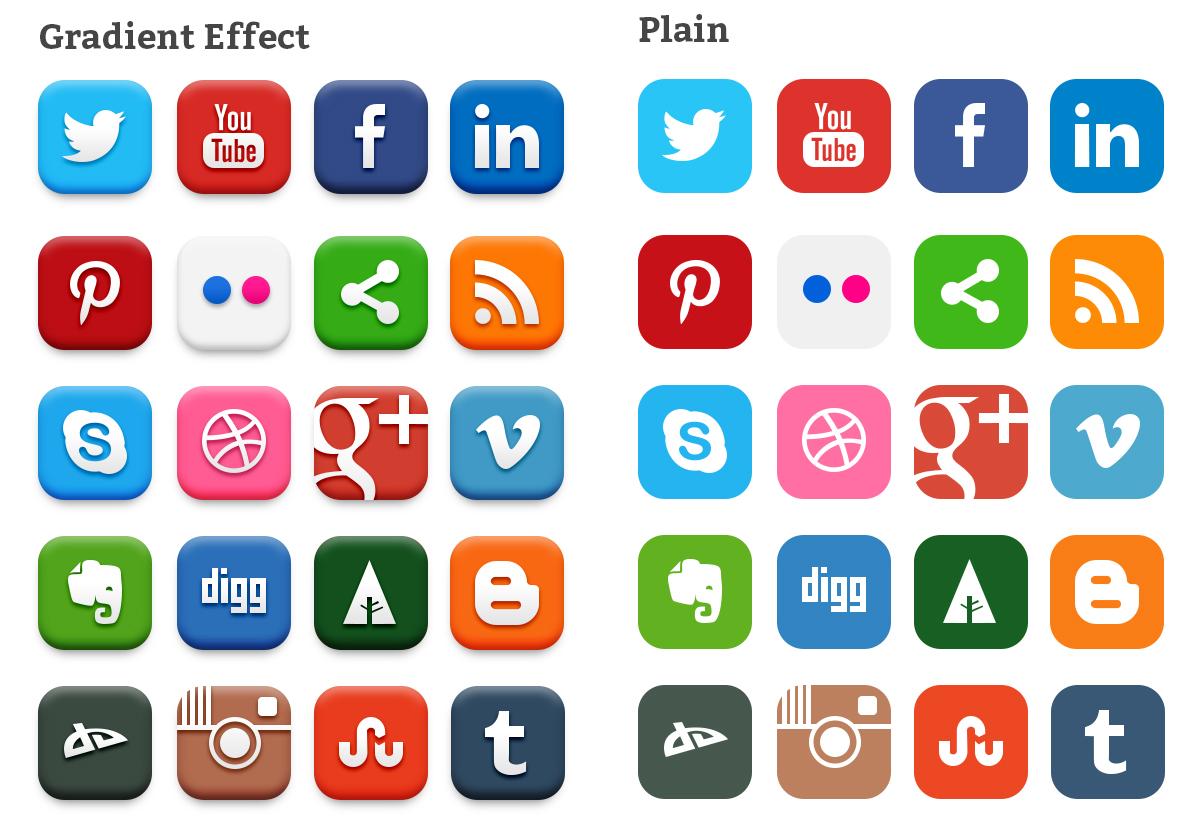 Соцсети картинки логотипов