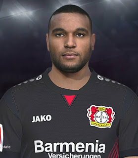 PES 2018 Faces Jonathan Tah by Shaft