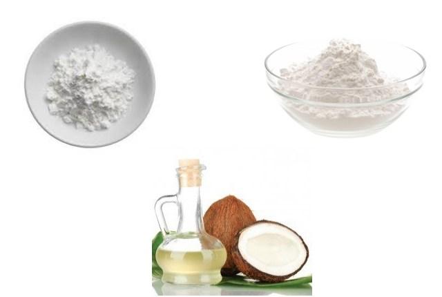Minyak Kelapa, Baking Soda dan Ararut