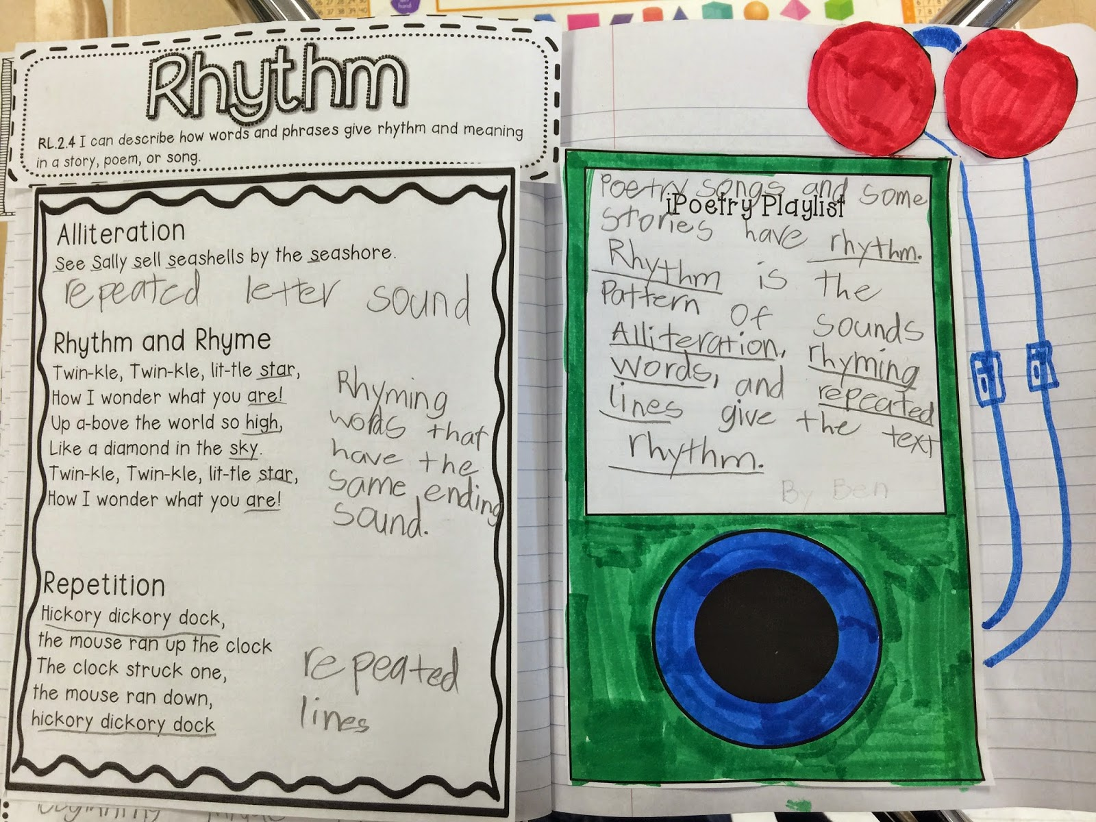 Mrs Taylor 2nd Grade Intervention Reading Notebook