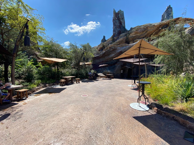 Relaxation Station Galaxy's Edge Phased Reopening Hollywood Studios Walt Disney World Resort