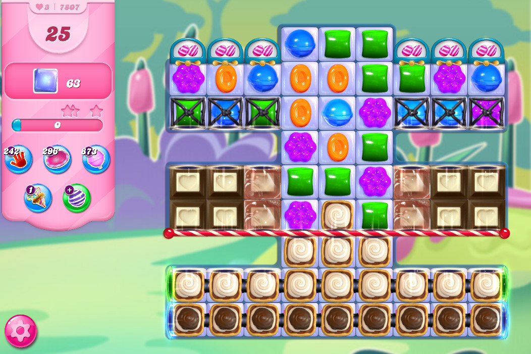 Candy Crush Saga level 7807