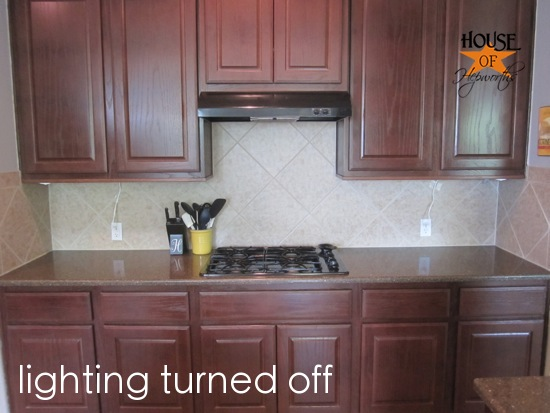 Blessed Foundation: Post 40: Cabinet Undermount Lighting