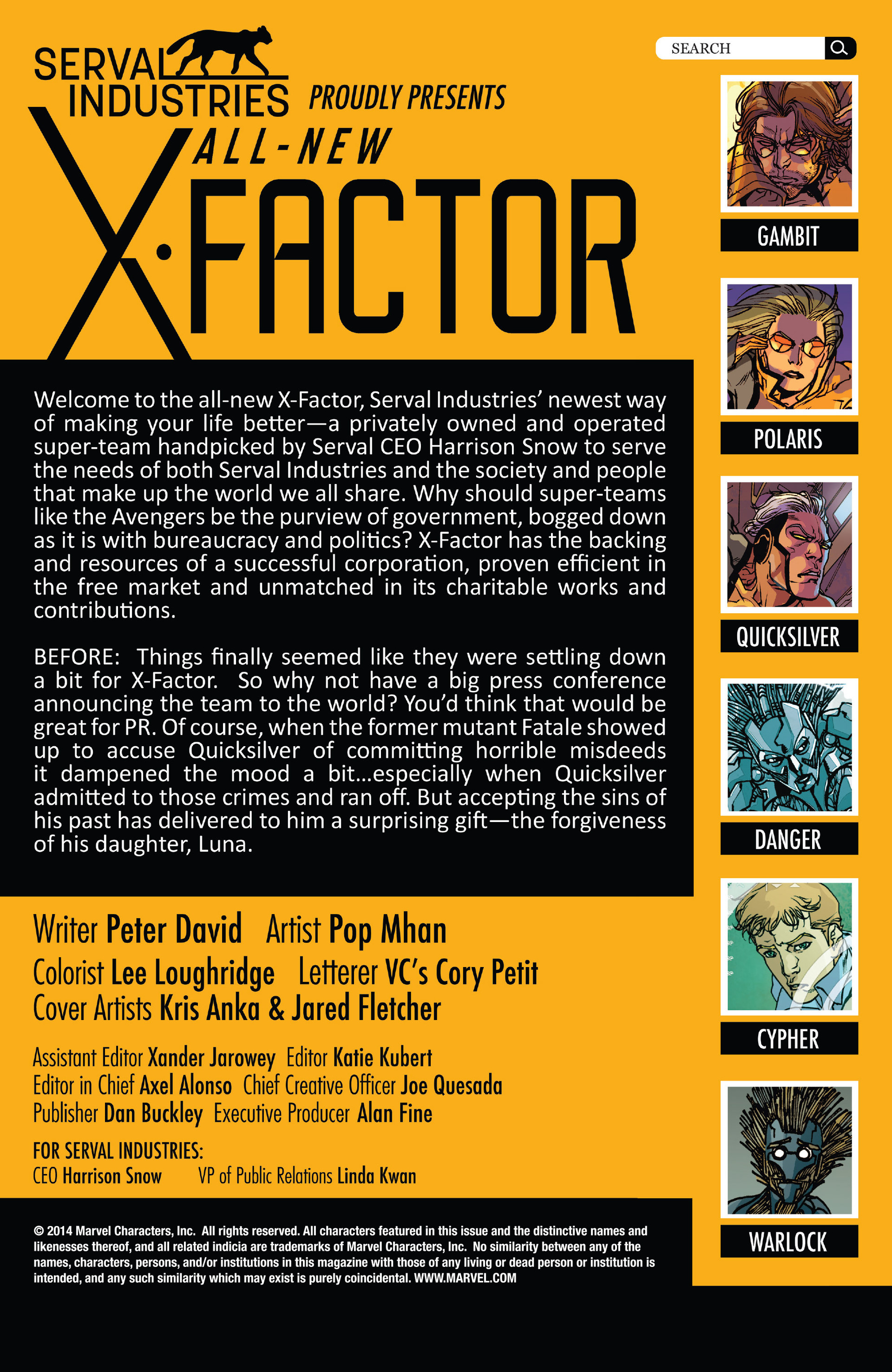 Read online All-New X-Factor comic -  Issue #13 - 2