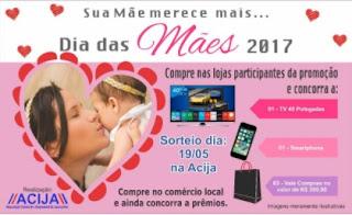 Promoção ACIJA Jacarezinho Dia das Mães 2017