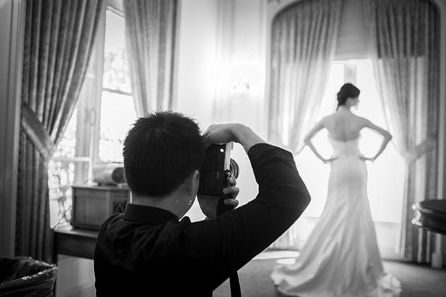 El fotógrafo debe de llegar a su hora - Foto: www.brides.com