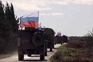 Tentara Rusia Dilaporkan Tiba di Perbatasan Suriah-Turki