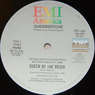 """Το βίντεο του τραγουδιού των Queensryche """"Queen Of The Reich"""" από το ομότιτλο single"""