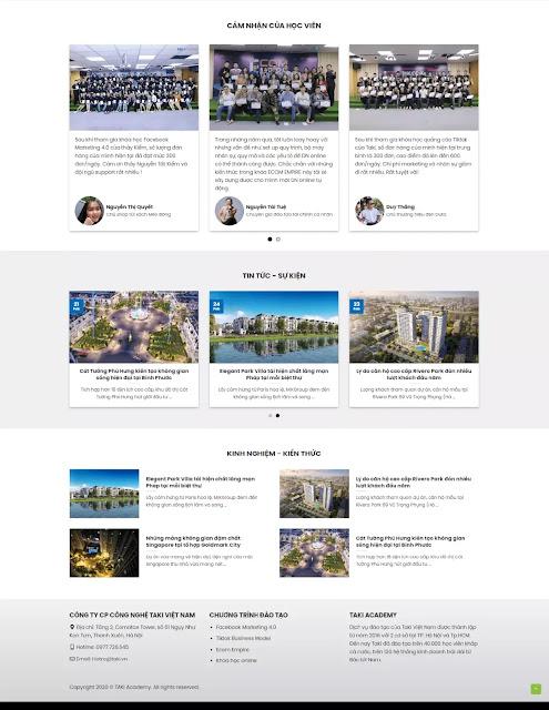 Template blogspot bán và giới thiệu khóa học online - Blogspotdep.com