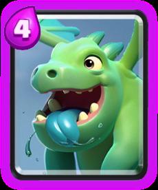 Bebê Dragão - Baby Dragon Clash Royale