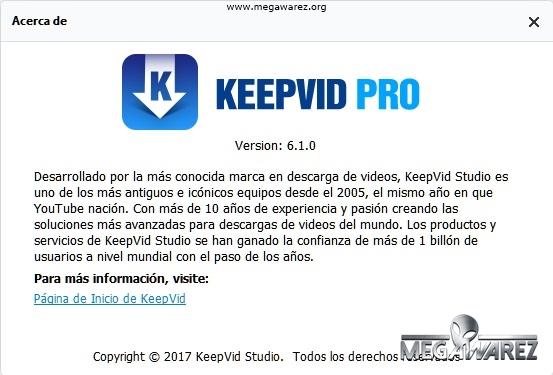 KeepVid Pro 6.1.0.8 imagenes