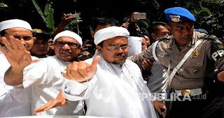 TAKBIR! Interpol Tolak Pengajuan Red Notice untuk Habib Rizieq, Kepolisian Siapkan Cara Lain
