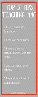 Top 5 AAC teaching tips