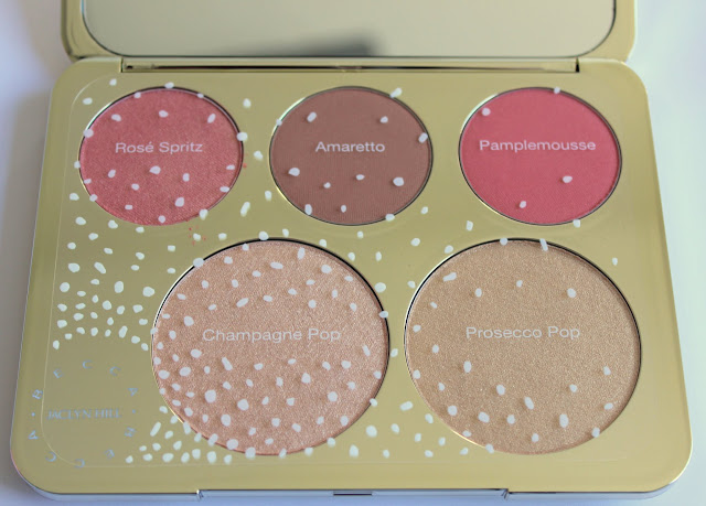 inside the face palette