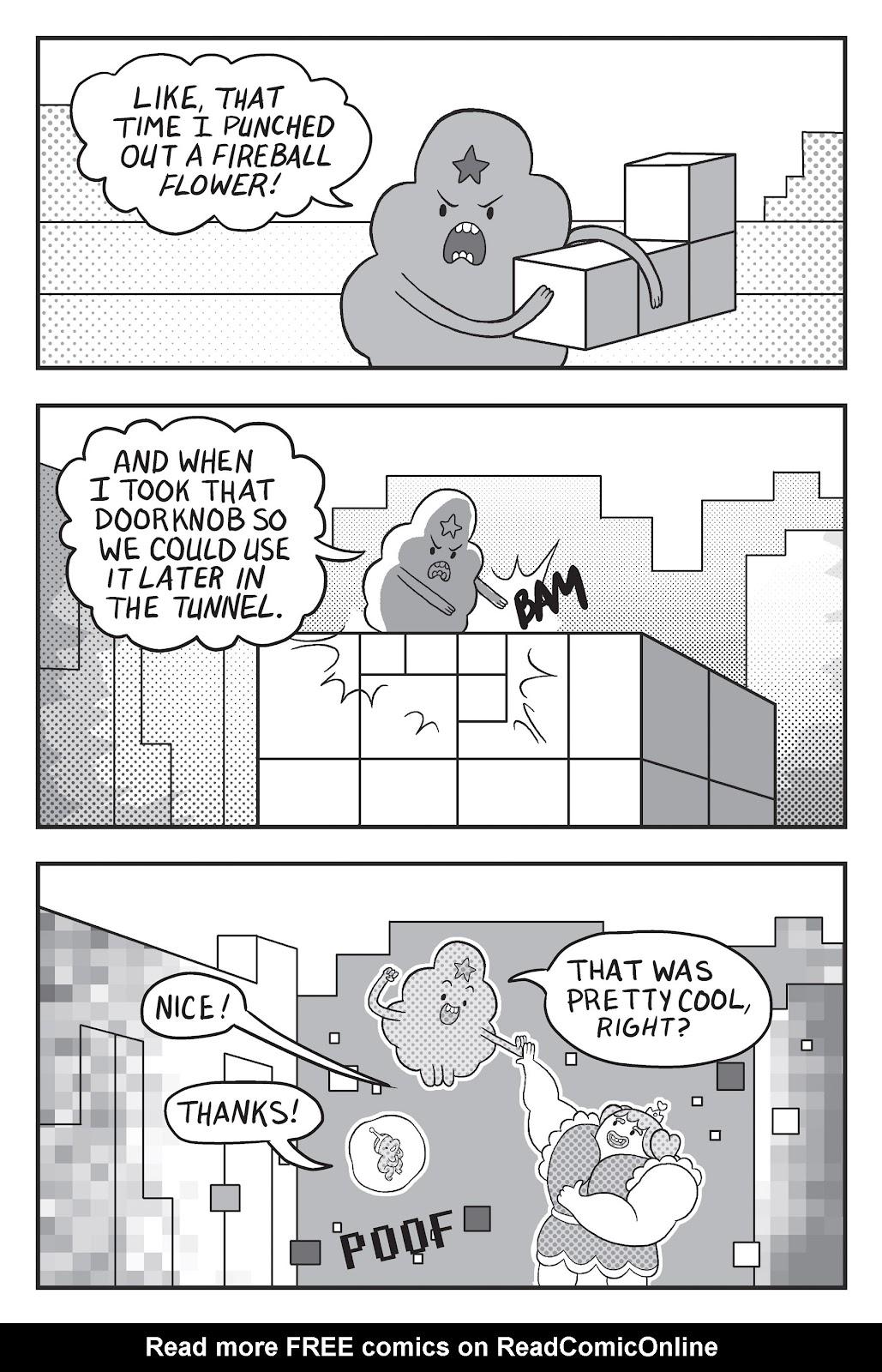 Read online Adventure Time: Pixel Princesses comic -  Issue # Full - 141