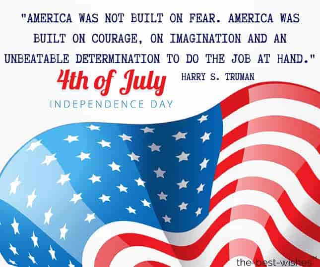 inspirational 4th of july quotes by harry truman