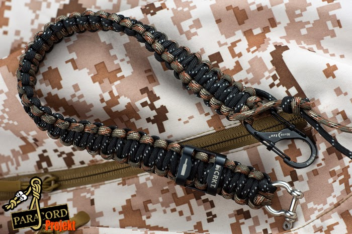 smycz do kluczy z paracordu - paracord lanyard bottle opener CRKT