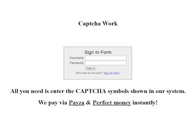 Kerja Resolve Captcha